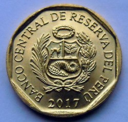 سکه > 10سنتیمو, 2017 - پرو  - reverse
