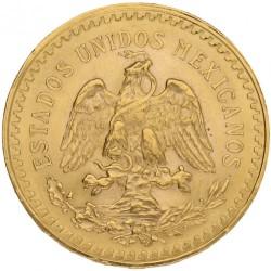 Münze > 50Pesos, 1921-1947 - Mexiko  - obverse