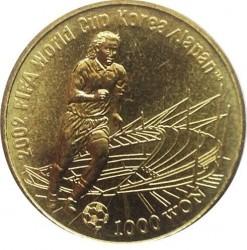 Moneta > 1000vonų, 2002 - Pietų Korėja  (2002 FIFA World Cup) - reverse