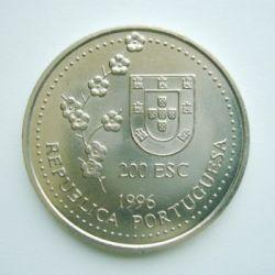 Monedă > 200escudo, 1996 - Portugalia  (1582 Portuguese Discovery of Taiwan) - obverse