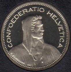 Moneta > 5franków, 1988 - Szwajcaria  - obverse