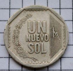 Monēta > 1jaunaissols, 2001-2011 - Peru  - obverse