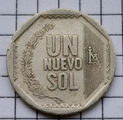 Moneta > 1nuevosol, 2001-2011 - Perù  - obverse