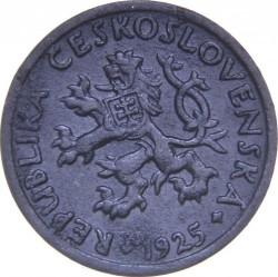 Moneta > 2halerze, 1923-1925 - Czechosłowacja  - obverse