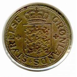 Монета > 5крон, 1944 - Гренландія  - reverse