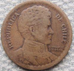 Münze > 1Peso, 1944 - Chile  - obverse