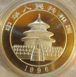 Moneta > 10yuan, 1996 - Cina  (Panda) - reverse