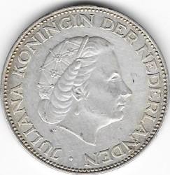 Moneta > 1fiorino, 1952-1970 - Antille Olandesi  - obverse