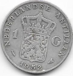Moneta > 1fiorino, 1952-1970 - Antille Olandesi  - reverse