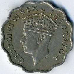 Mynt > 1piastre, 1938 - Cypern  - obverse