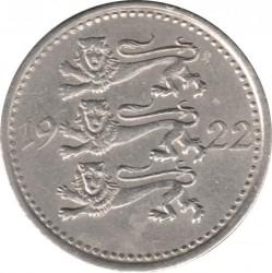 Munt > 3marka, 1922 - Estonië  - obverse