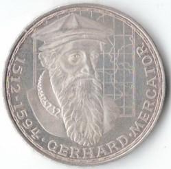 Moneda > 5marcos, 1969 - Alemania  (375º Aniversario - Muerte de Gerardus Mercator) - obverse