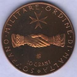 Монета > 10грани, 1972-1973 - Малтийски орден  - obverse