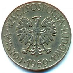 Монета > 10злотих, 1969-1973 - Польща  (Тадеуш Костюшко) - obverse
