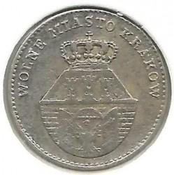 Mynt > 5groszy, 1835 - Krakow  - obverse