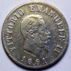 Монета > 50чентезимо, 1861-1862 - Італія  - obverse