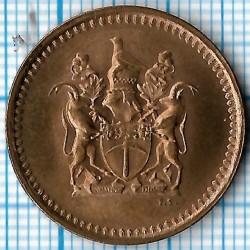 硬币 > 1分, 1970-1977 - 罗德西亚  - obverse