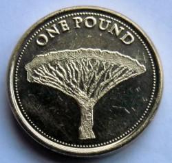 Moneda > 1libra, 2014-2016 - Gibraltar  - reverse