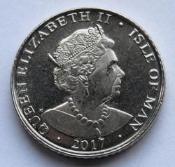 Moneta > 5pence, 2017 - Isola di Man  - obverse