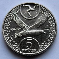 Moneta > 5pence, 2017 - Isola di Man  - reverse