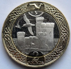 Монета > 2паунда, 2017 - Остров Ман  - reverse
