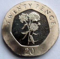 Coin > 20pence, 2014-2016 - Gibraltar  - reverse