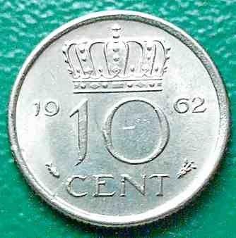 10 Cent 1962 Niederlande Münzen Wert Ucoinnet