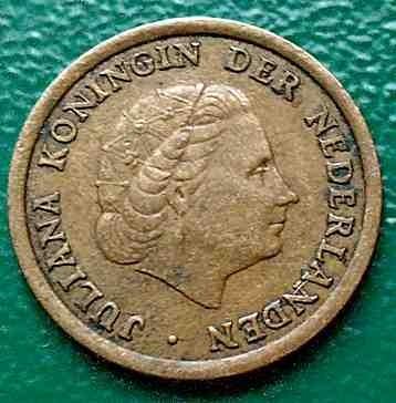 1 Cent 1958 Niederlande Münzen Wert Ucoinnet