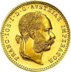 Moneta > 1ducato, 1872-1915 - Austria  - obverse