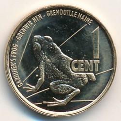 Монета > 1цент, 2016 - Сейшелы  - reverse