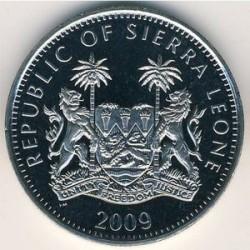 Moneta > 1dollaro, 2009 - Sierra Leone  (XXI Giochi olimpici invernali, Vancouver 2010 - Atleti) - obverse
