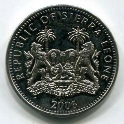 Moneta > 1dollaro, 2006 - Sierra Leone  (XX Giochi olimpici invernali, Torino 2006 - Torcia) - obverse