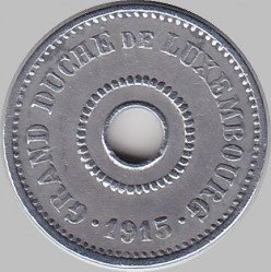 מטבע > 5סנטים, 1915 - לוקסמבורג  - obverse