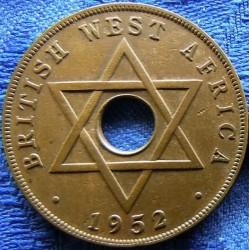 Moneda > 1penny, 1952 - Àfrica Occidental Britànica  - reverse