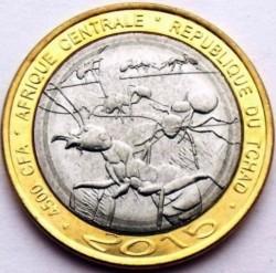 Монета > 4500франков, 2015 - Чад  (Муравьи) - obverse