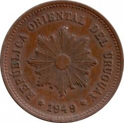 Νόμισμα > 5Σεντέσιμος, 1944-1951 - Ουρουγουάη  - obverse