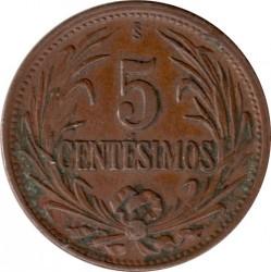 Νόμισμα > 5Σεντέσιμος, 1944-1951 - Ουρουγουάη  - reverse