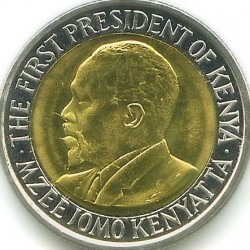 Coin > 5shillings, 2010 - Kenya  - reverse