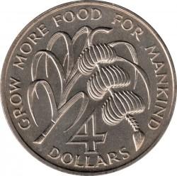 Moneta > 4dollari, 1970 - Grenada  (FAO) - reverse