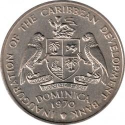 Монета > 4долара, 1970 - Доминика  (Организация по прехрана и земеделие (ФАО)) - obverse