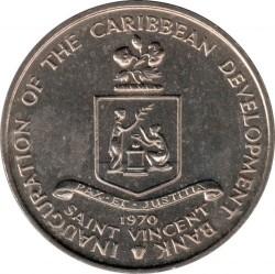 Moeda > 4dólares, 1970 - São Vicente e Granadinas  (FAO) - obverse