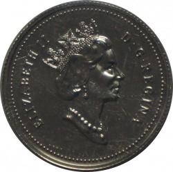 Монета > 25цента, 1992 - Канада  (125th Anniversary of Canada) - obverse