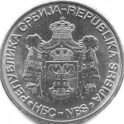 Монета > 20динаров, 2009 - Сербия  (130 лет со дня рождения Милутина Миланковича) - obverse