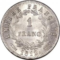 Moneta > 1franco, 1809-1814 - Francia  - reverse