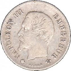 Pièce > 20centimes, 1853-1863 - France  - obverse