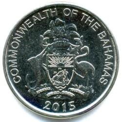 Монета > 5центів, 2015-2016 - Багамські острови  - obverse