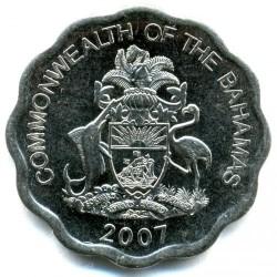 硬币  /> 10分, 2007-2016 - 巴哈马 - obverse