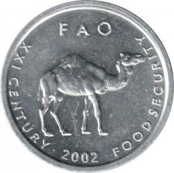 Монета > 10шиллингов, 1999-2002 - Сомали  - reverse