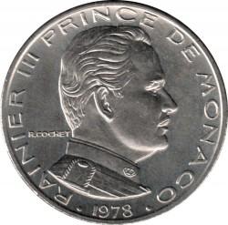 Mynt > 1franc, 1960-1995 - Monaco  - obverse