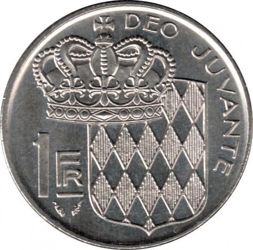 1 Franc 1960 1995 Monaco Coin Value Ucoin Net